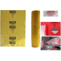 Buy cheap Wholesale large oversize thicker LDPE asbestos remove bags, disposable biohazard garbage bags, asbestos poly bag, bageas from wholesalers