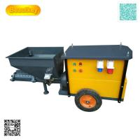 Buy cheap automatic wall cement mortar spray machine for exterior wall from wholesalers
