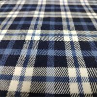 Buy cheap Casual Shirts Plaid Cotton Fabric Multi Color Optional For School Uniform from wholesalers
