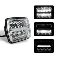 Buy cheap Square Car LED Headlights 5x7 Inch Sealed Beam H / Low Beam with Parking Light 3900lm from wholesalers