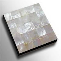 Buy cheap White mother of pearl shell tile from wholesalers