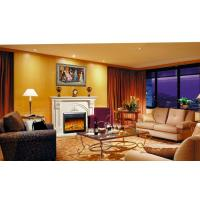 Buy cheap Customize Freestanding Living Room Fireplace Electric Heaters Adjustive Flame from wholesalers