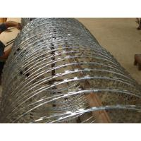 Buy cheap Concertina Barbed Wire Electric Galvanized Steel Garden Border Edging from wholesalers