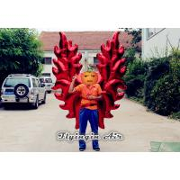Buy cheap Red Stage and Event Performance Suit Inflatable Wings for Adults Costumes from wholesalers