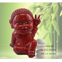 Buy cheap Polyresin cute little monk statue from wholesalers