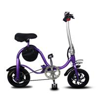 Disc Brake Fold Up Electric Bike Aluminum 6061 Body Material S1 Stem Folding