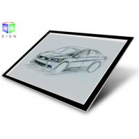 Buy cheap A0 Super Slim Aluminum Led Light Box Drawing , Pad Led Tracing Light Box For Kids from wholesalers