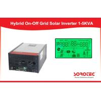 Buy cheap Hybrid On / Off Solar Power Inverters Provide Long Time Backup Ac Power from wholesalers