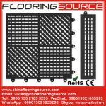 Buy cheap Interlocking pvc wet area mat locker room mat bathroom mat drain water mat from wholesalers