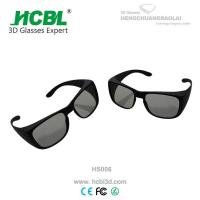 Buy cheap Stylish Sunglasses Passive 3D glasses , Cinema 3D Projector Glasses from wholesalers