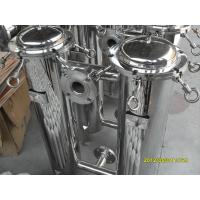 Buy cheap 5 Industrial Bag Filter Housing Plastic For Coating , ASTM SS 304 / SS 316 from wholesalers