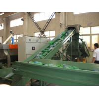 Buy cheap 500kg/h PET Bottle Flakes Crushing Washing Drying Recycling Machine from wholesalers