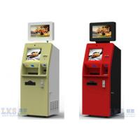 Buy cheap 22 Inch Self Service Kiosk , Interactive Advertising Kiosk Signage Red Color from wholesalers