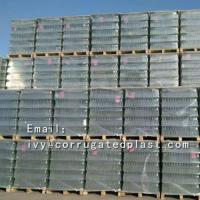 Buy cheap Pallet layer pad pp rounder corner corrugated plastic dividers from wholesalers