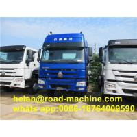 Buy cheap Blue EuroII 6x4 Prime Mover Truck , Q345 SINOTRUK HOWO Tractor Truck from wholesalers