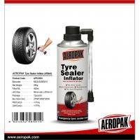Buy cheap Aeropak Aerosol Fix Flat Tyre Sealer Inflator With Eco-friendly Formula 650ml from wholesalers