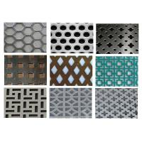Buy cheap Punching Square Hexagonal Perforated Sheet 3003 H14 For Acoustic Wall Panels from wholesalers