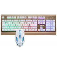 Buy cheap Led Gaming Keyboard And Mouse Combo For Windows 2000 / XP / VISTA / 7 / 8 from wholesalers