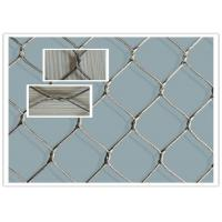 Buy cheap Silvery Stainless Steel Wire Rope Fence Mesh Lightweight For Bridge Protecting from wholesalers