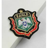 Buy cheap New promotional customed logo cloth Embroidery patch sports badge club outdoor activity from Wholesalers