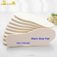Buy cheap 100% wool insole for warm felt shoes pad for snow boots breathable shoes warm pads from wholesalers