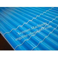 Buy cheap plastic PVC water and fire resistant, long life time wave tile panel making machine product