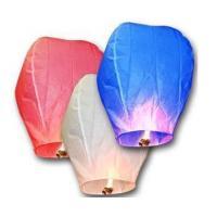 Buy cheap sky lantern 95*55*37CM  Environmentally friendly materials for European countries product