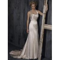 Buy cheap Ivory Satin Wedding Gown Bride Dress (H-14) from wholesalers
