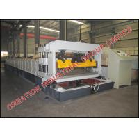 Buy cheap Corrugated Sheet Roof Tile Roll Forming Machine With Mitsubishi PLC Control Box from wholesalers