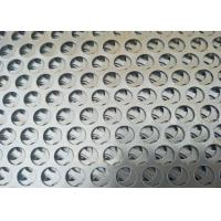 Buy cheap OEM Cold Rolled Round Sheet Metal , Popular Round Steel Mesh  Large Open Area from wholesalers