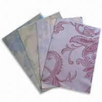 Buy cheap 100% Cotton Yarn-dyed Jacquard Fabric, Weighs 146gsm, Customized Colors are Accepted product