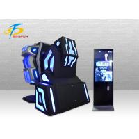 Buy cheap 1 Seat 9d VR Game Machine Blue/Red Virtual Reality Simulator 360 VR Chair from wholesalers