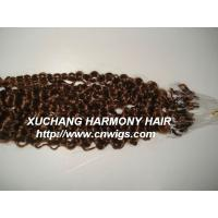Buy cheap human hair extensions easy loop micro ring from wholesalers