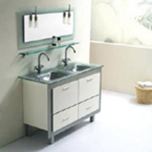 hand wash cabinet Single-hole basin with bathroom ceramic