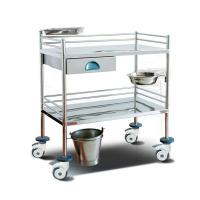 Buy cheap Surgical Instrument Hospital Patient Trolley , Stainless Steel Medical Equipment Trolley from wholesalers