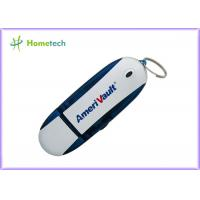 Buy cheap Durable Dark Blue Plastic USB Flash Drive , USB Flash Memory Stick from wholesalers