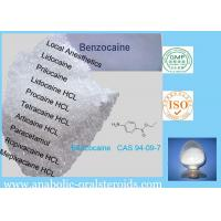 Buy cheap White Crystalline Local Anesthetic Agents Benzocaine CAS 94-09-7 Relieve Pain For Surgery from wholesalers