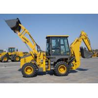 Buy cheap Energy Saving Eco Tractor Backhoe Loader for Piping Builds / Cable Builds / Park Virescence from wholesalers