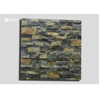 Natural Color Yellow And Grey Limestone Cultured Stone For Wall Cladding 3-3.5cm