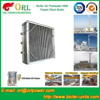 Buy cheap Plate Type Boiler Air Preheater Alloy Steel , Boiler APH Energy Saving from wholesalers