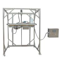 Buy cheap IEC 60529 Ingress Protection Test Equipment IPX1 IPX2 Movable Vertical Rain Drip Box from wholesalers