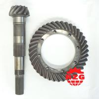 Buy cheap Truck Spiral Bevel Gear Modulus 6.4 , Crown Wheel and Pinion Gear from wholesalers