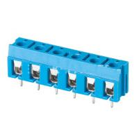 Buy cheap TB 3.81mm pitch 2P 3P make to XXXP 300V 16A pcb board use screw terminal block blue color product