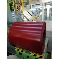 Buy cheap YK Red Prepainted Steel Coil Galvanized Steel Sheet Coil TCT 0.25 X 914mm G550 from wholesalers