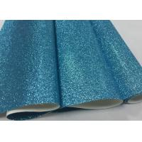 Buy cheap Glitter Fabric Ocean Blue Sparkle Wallpaper For Wallpaper Wall Covering from wholesalers