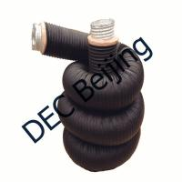 Buy cheap Fiberglass wool insulated flexible duct 8 inch HVAC insulated flexible duct  Air Condition System product