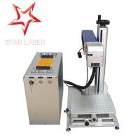 Buy cheap Metal / Steel Spoon IMEI Industrial Laser Marking Machine For Micro Memory Card from wholesalers