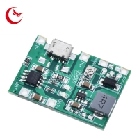 Buy cheap Lithium Li-ion 18650 3.7V 4.2V Battery Charger Board DC-DC Step Up Boost Module TP4056 DIY Kit Parts from wholesalers