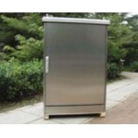 Buy cheap Stainless Steel Outdoor Telecommunication Enclosures / Electronics Cabinet product