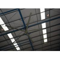 High Volume Low Speed Fan : Industrial ceiling fan with high volume air flow and